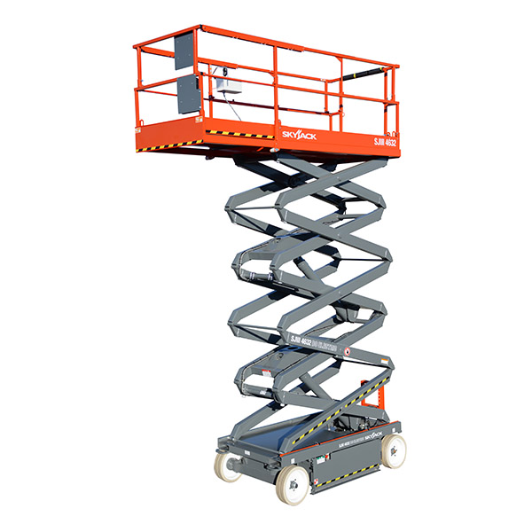 Scissor lift cherry picker hire