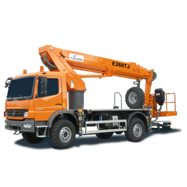 Truck mount cherry picker hire